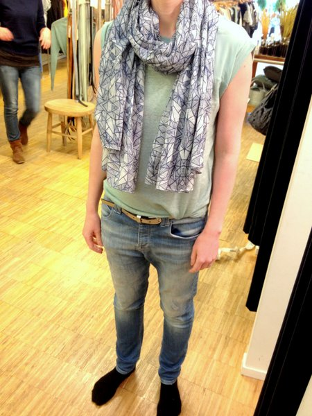 Personal Shopping Shawl en Top Sissy-Boy