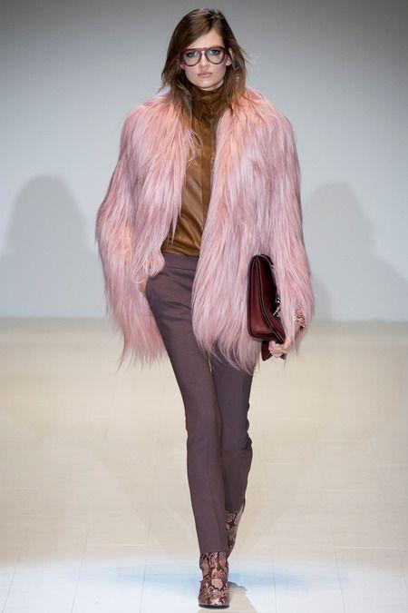 Fur Cardigan Cashmere Rose modetrends