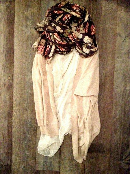 top vest en opvallende shawl