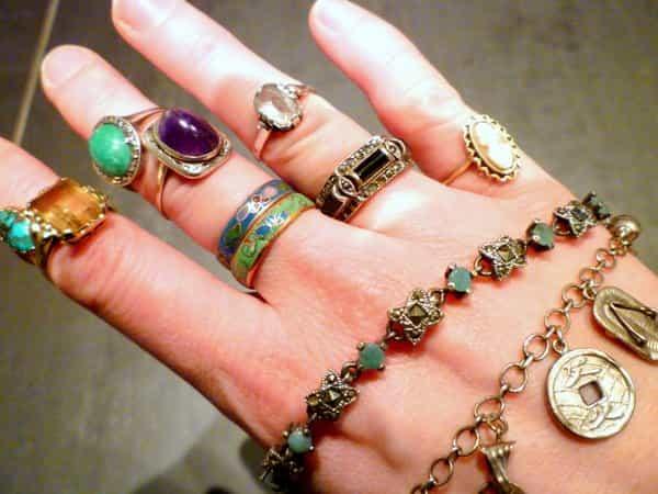Vintage Juwelen Stijl Mode