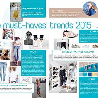 Trends voor Zomer 2015 en Stijl- en Kledingtips  in ForYouMagazine