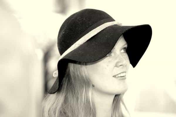 zwart wit hoedje selfie hoed advies tips hoe draag je een hoed utrecht