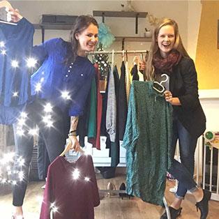 Drie keer een kerst-outfit voor Fitte Vrouwen's Hanneke!