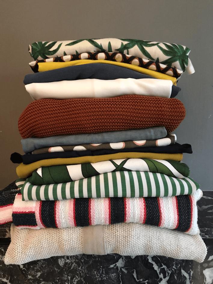 Stapeltje kleren