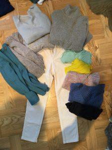 witte broek in de winter